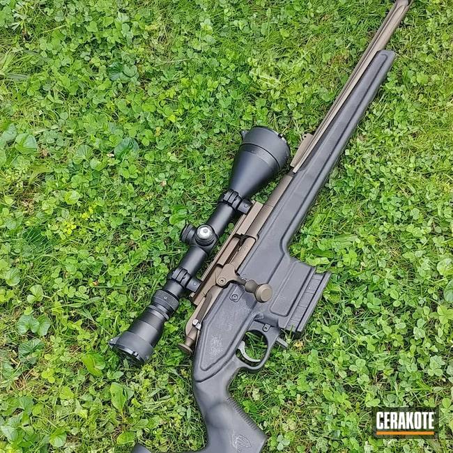 Cerakoted: S.H.O.T,Rifle,Burnt Bronze H-148,7.62x39,Mosin