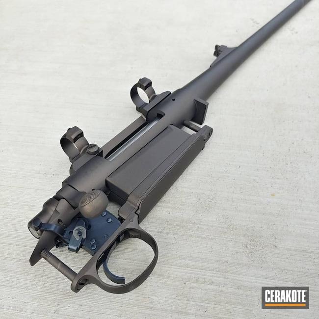 Cerakoted: S.H.O.T,Rifle,Bolt Action Rifle,Midnight Bronze H-294,Remington 700