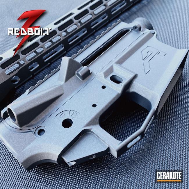 Cerakoted: S.H.O.T,Aero Precision,Upper Receiver,Rail,Lower Receiver,Tungsten H-237,5.56