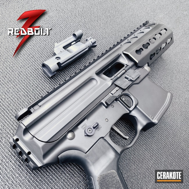 Cerakoted: S.H.O.T,9mm,NFA,MPX,Armor Black H-190,Sig Sauer,MICRO SLICK DRY FILM LUBRICANT COATING (AIR CURE) C-110,SBR