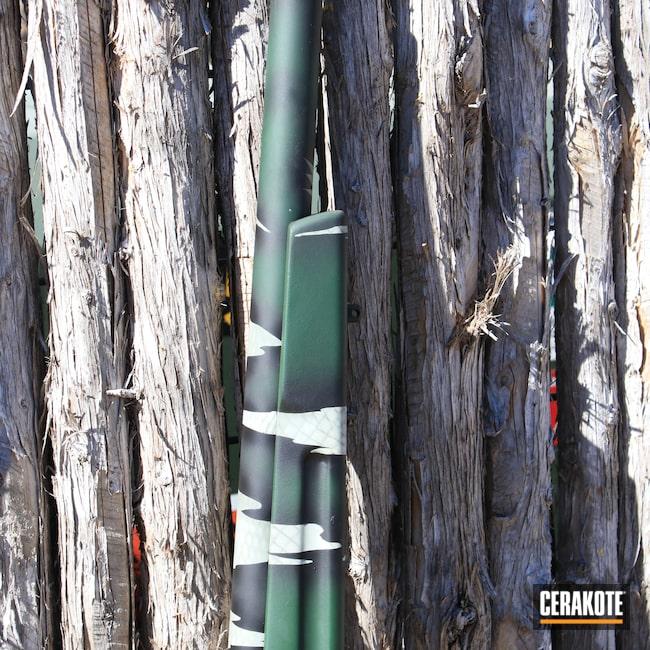 Cerakoted: S.H.O.T,RIP,Graphite Black H-146,Camo,Forest Green H-248,Remington,Tactical Grey H-227,.308,Jesse James Eastern Front Green H-400,Light Sand H-142,Remington 700