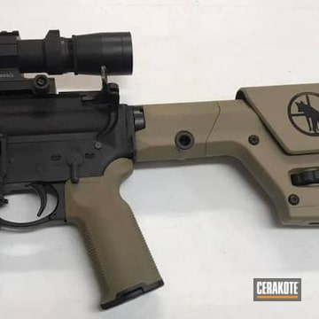 Custom Ar Cerakoted Using Magpul® Flat Dark Earth