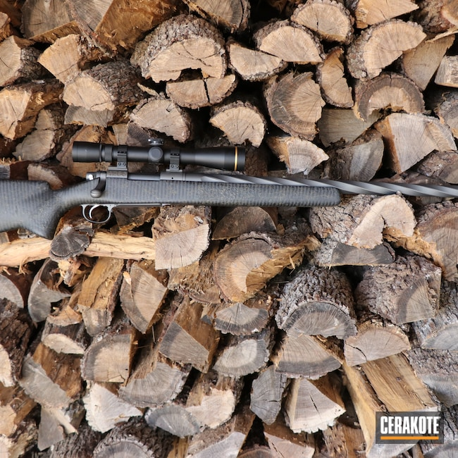 Cerakoted: S.H.O.T,Rifle,Bolt Action Rifle,Hunting,Tungsten H-237,.308