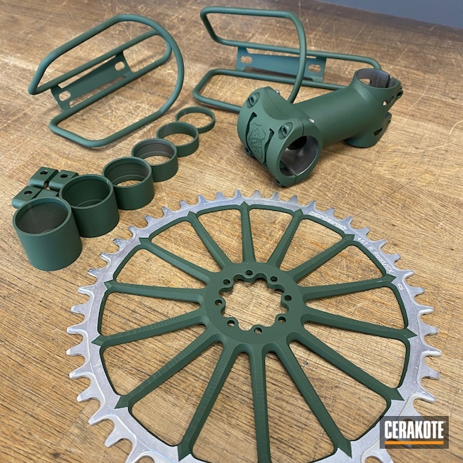 Cerakoted: Jesse James Eastern Front Green H-400,Bicycle Parts