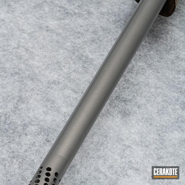 Cerakoted: TRANSFER GREY (AIR CURE) C-187,.223 Ackley Improved,Custom Rifle Build