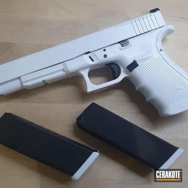 Cerakoted: S.H.O.T,9mm,Stormtrooper White H-297,Glock,Glock 40