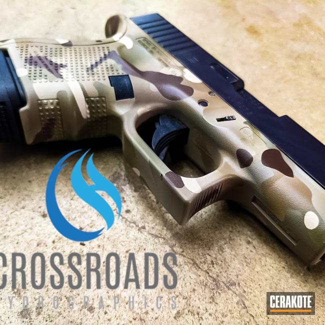 Cerakoted: S.H.O.T,HAZEL GREEN H-204,MultiCam,Desert Sand H-199,Arid MultiCam,Glock 30,FDE E-200,Glock,Chocolate Brown H-258