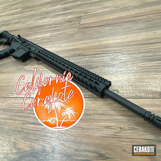 Cerakoted: Rifle,Graphite Black H-146,Handguard,Black,Christopher Miller,california cerakote