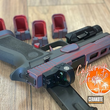 Cerakoted Sig Sauer P320 In H-146 And H-167