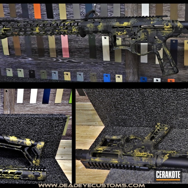 Cerakoted: Sniper Grey H-234,BLACKOUT E-100,Graphite Black H-146,SIG™ DARK GREY H-210,SUNFLOWER H-317,Gold H-122,HexCam