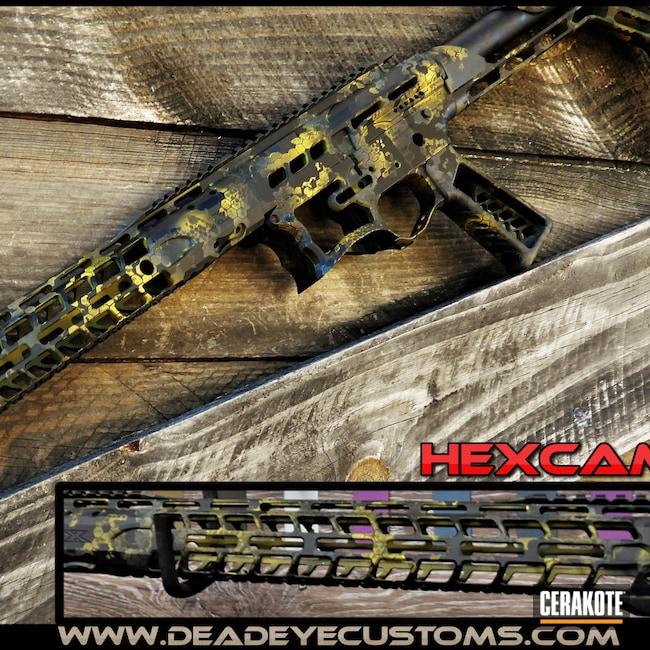 Cerakoted: Sniper Grey H-234,BLACKOUT E-100,Graphite Black H-146,SIG™ DARK GREY H-210,SUNFLOWER H-317,Gold H-122,HexCam
