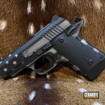 Cerakoted Kimber Micro 9 In H-146 And H-255