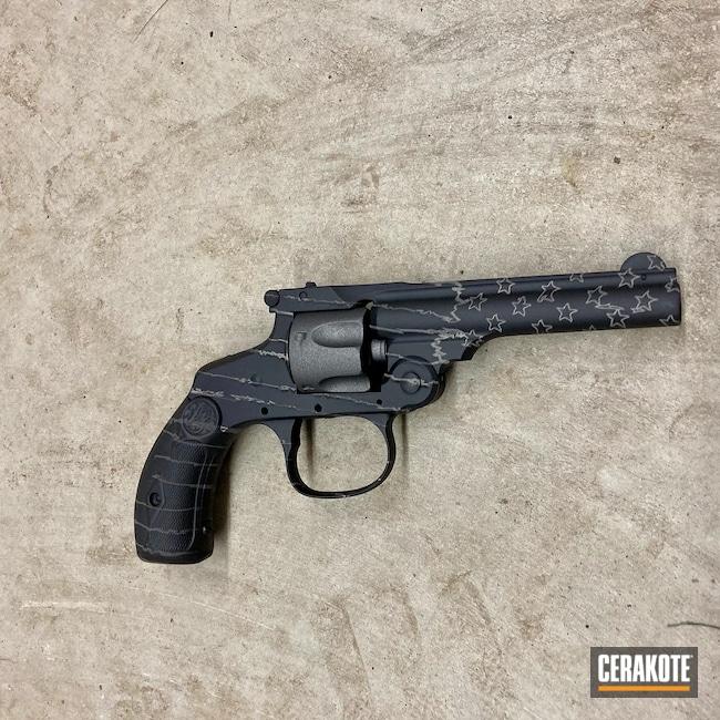 Cerakoted: S.H.O.T,Revolver,Colt,Armor Black H-190