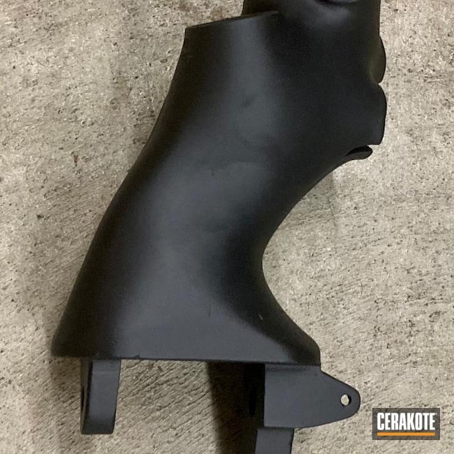 Cerakoted: S.H.O.T,Aircraft,Throttle Body,Armor Black H-190,Automotive
