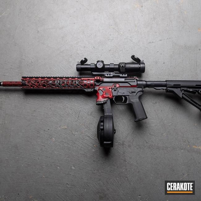 Cerakoted: S.H.O.T,RUBY RED H-306,PCC Carbine,Oregon,black flag armory,Armor Black H-190,Jack 9,Southern Oregon,SIG™ DARK GREY H-210,Jack,Medford,PCC