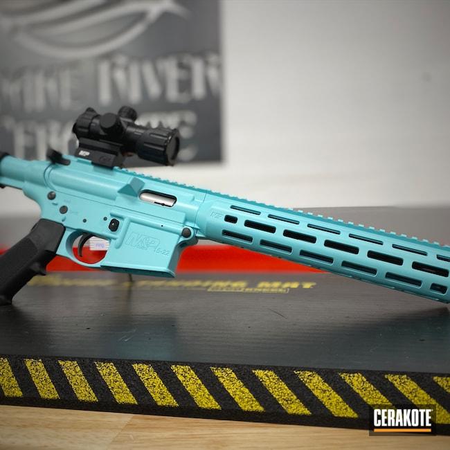 Cerakoted: S.H.O.T,Robin's Egg Blue H-175,Smith & Wesson,.22LR,M&P 15-22,.22