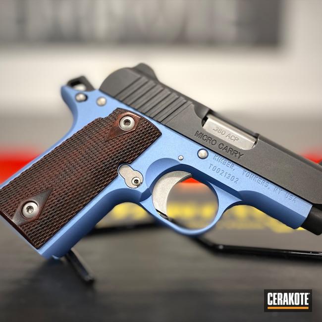 Cerakoted: S.H.O.T,Kimber,Micro,Pistol,POLAR BLUE H-326