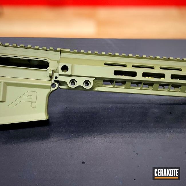 Cerakoted: S.H.O.T,Aero Precision,AR15 Builders Kit,.223,Noveske Bazooka Green H-189,AR-15
