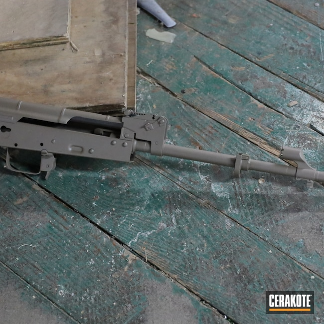 Cerakoted: S.H.O.T,Palmetto State Armory,Rifles,7.62x39,Flat Dark Earth H-265,7.62,AK