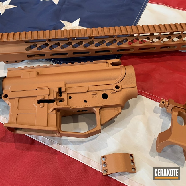 Cerakoted: S.H.O.T,COPPER H-347,AR Project,AR Build