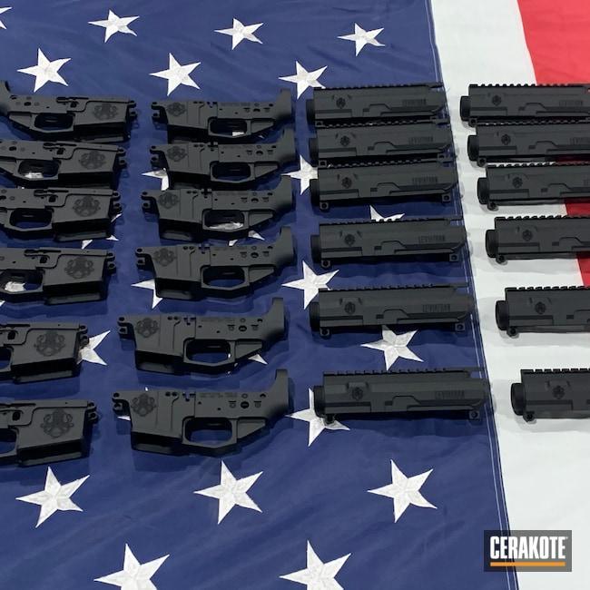 Cerakoted: S.H.O.T,Billet,Leviathan Defense,Graphite Black H-146,AR,AR Build