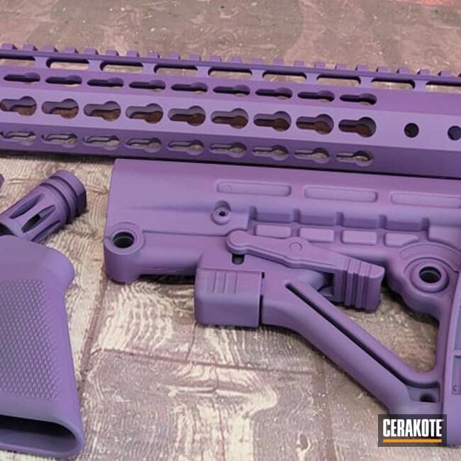Cerakoted: S.H.O.T,Bright Purple H-217,AR Project,Tactical Rifle,AR Rifle,AR Build,AR-15