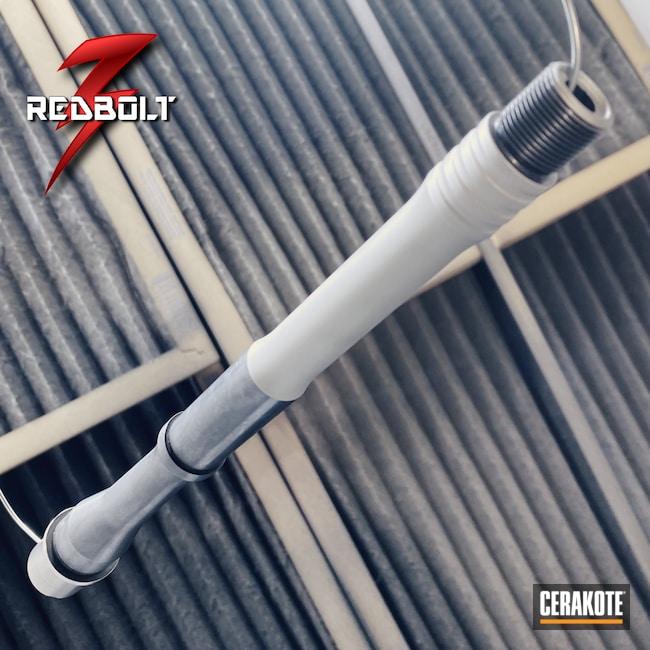 Cerakoted: S.H.O.T,Thread Protector,MAGPUL® FLAT DARK EARTH H-267,Threaded Barrel,Rifle Barrel,.300 Blackout