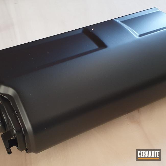 Cerakoted: BLACKOUT E-100,Graphite Black H-146,BMW,Automotive,CERAKOTE GLACIER BLACK C-7600,Motorcycle