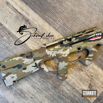 Magpul Pdr Cerakoted Using Noveske Bazooka Green, Mcmillan® Tan And Barrett® Bronze