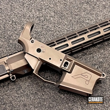 Aero Precision Builders Set Cerakoted Using Midnight Bronze