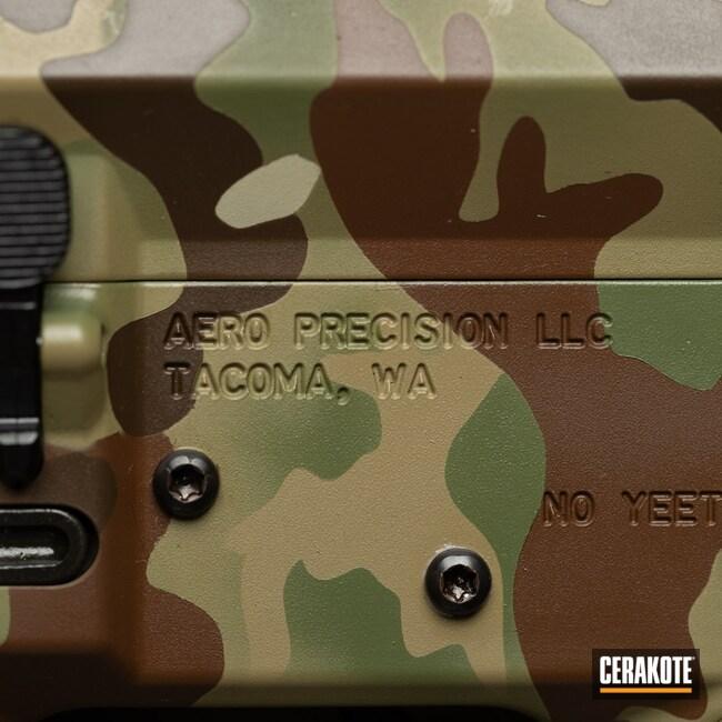 Cerakoted: S.H.O.T,Cerakote,MULTICAM® PALE GREEN H-339,5.56,Medford,Plum Brown H-298,Aero Precision,NFA,MultiCam,Oregon,black flag armory,M4Y33T1,BENELLI® SAND H-143,MULTICAM® DARK BROWN H-342,Southern Oregon,SBR,NFA Items,MULTICAM® DARK GREEN H-341