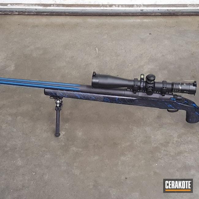 Cerakoted: S.H.O.T,Tactical,USA,Kreiger Barrel,375,Afghanistan,Straight Shooter Supply Custom Rifle,Army Marksmanship Unit,Graphite Black H-146,Long Range,Stiller,375 Cheytac,Long Range Rifle,Iraq,.408 cal,Sky Blue H-169