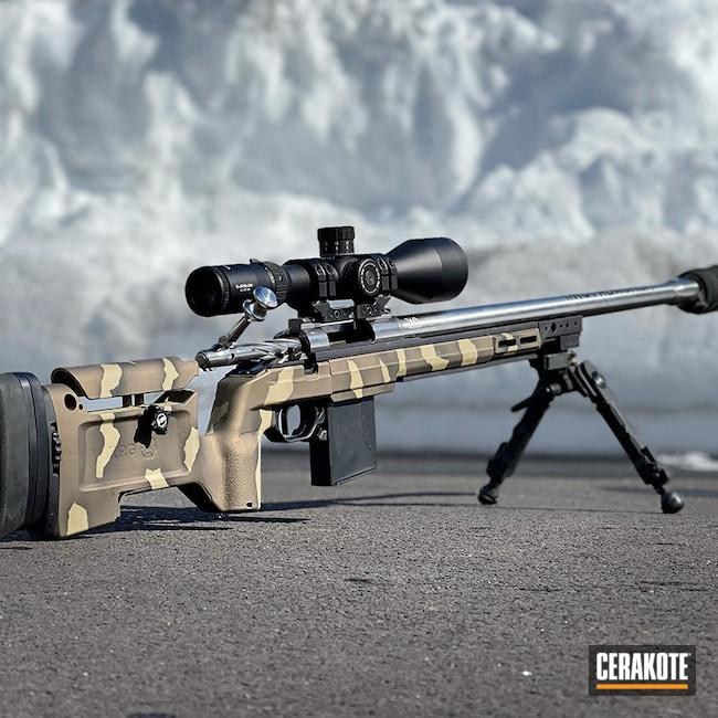 Cerakoted: S.H.O.T,Graphite Black H-146,KRG,Precision Rifle Series,Burnt Bronze H-148,.223,Prs,MULTICAM® PALE GREEN H-339,Bravo Company USA,Rifle Chassis