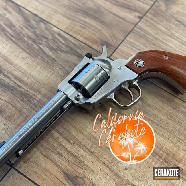 Cerakoted: S.H.O.T,Ruger,MATTE CERAMIC CLEAR MC-161,Clear Coat,Ruger Revolver,Christopher Miller,california cerakote