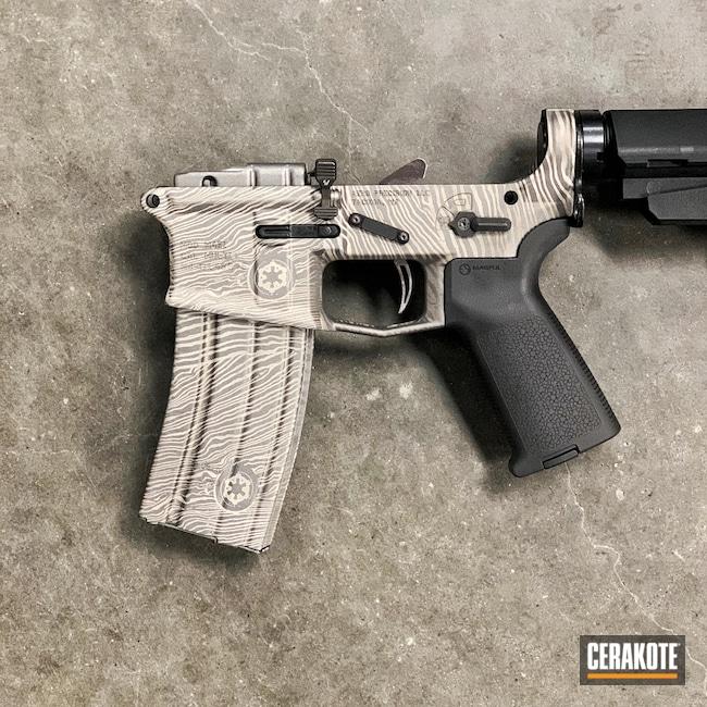 Cerakoted: S.H.O.T,Tungsten H-237,Satin Aluminum H-151,Star Wars
