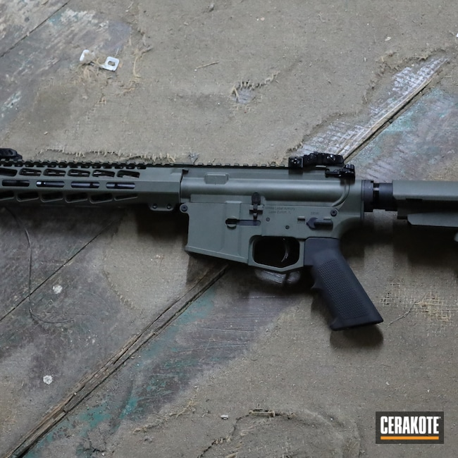 Cerakoted: S.H.O.T,White Label Armory,AR Pistol,NATO,WLA-15,O.D. Green H-236,5.56,AR-15