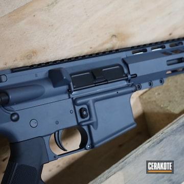 Custom Ar Build Cerakoted Using Graphite Black And Glock® Grey