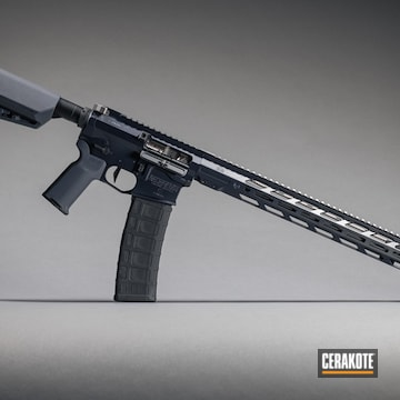 Ar Build Cerakoted Using Magpul® Stealth Grey