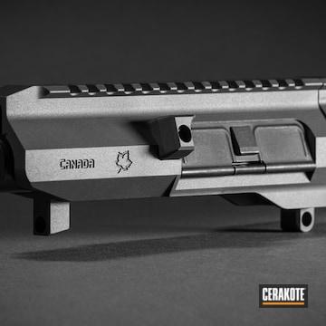 Modern Varmint Rifle Cerakoted Using Tungsten