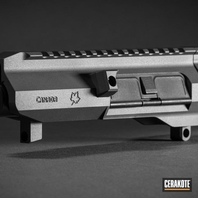 Cerakoted: S.H.O.T,Maple Ridge Armouries,Graphite Black H-146,Tungsten H-237,Alberta Tactical Rifle,Modern Varmint,AR-15