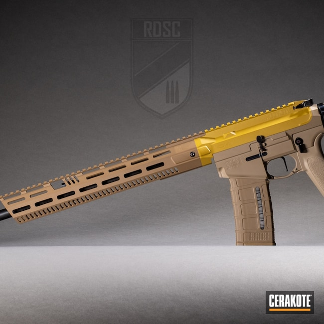 Cerakoted: S.H.O.T,MAGPUL® FLAT DARK EARTH H-267,SPRINGFIELD® FDE H-305,Coyote M17 E-170G,Ral 8000 H-8000,Black Creek Labs,AR-15