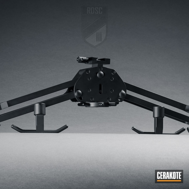 Cerakoted: S.H.O.T,Remple,Graphite Black H-146,Bipod