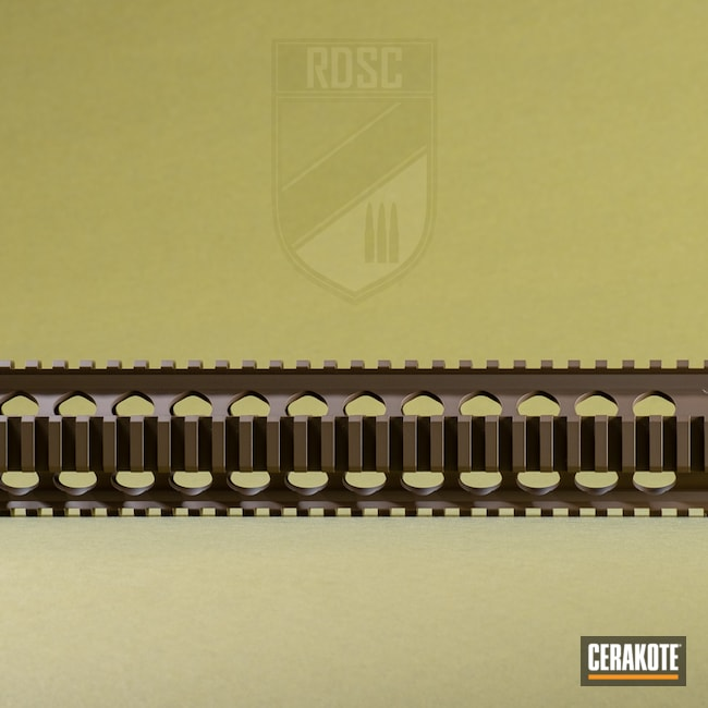 Cerakoted: S.H.O.T,Handguard,Patriot Brown H-226,BCM