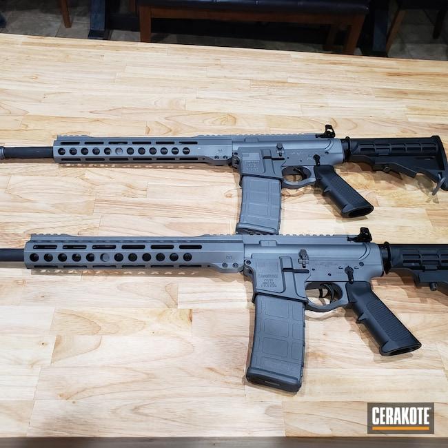 Cerakoted: S.H.O.T,.223,Tactical Grey H-227,AR-15