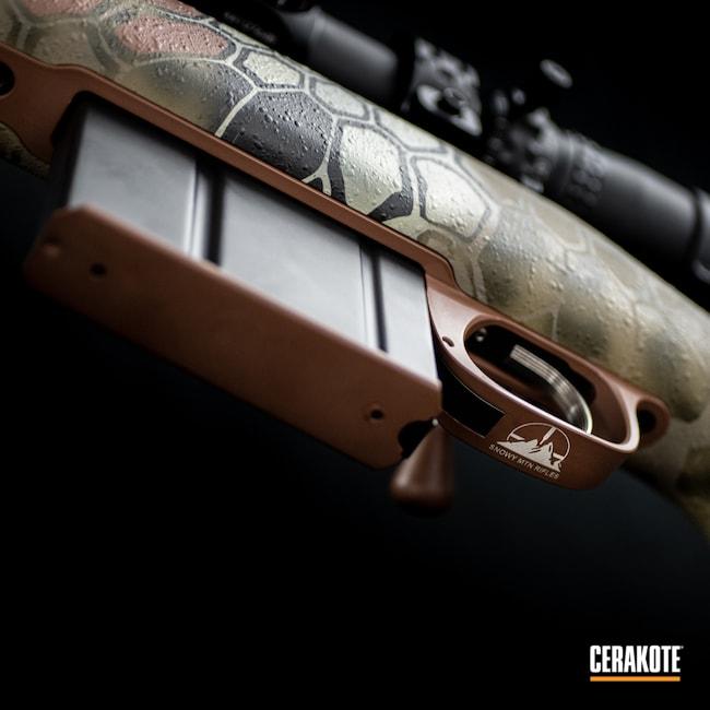 Cerakoted: S.H.O.T,Desert Sage H-247,Highlander,Coyote Tan H-235,Kryptek,Snowy Mountain Rifles,Graphite Black H-146,Federal Brown H-212,Camo,MAGPUL® O.D. GREEN H-232