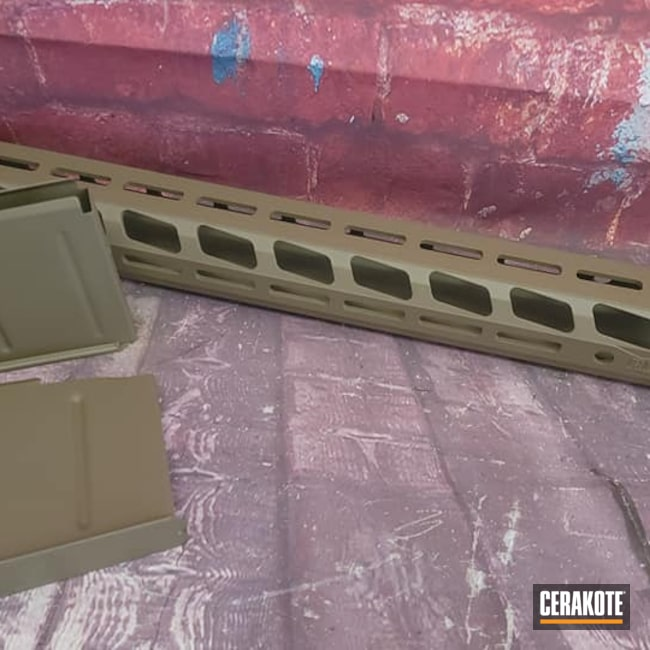 Cerakoted: S.H.O.T,Ruger,Handguard,Gun Parts,Flat Dark Earth H-265