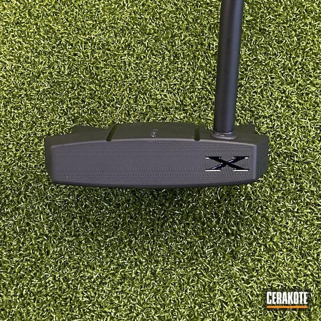 Cerakoted: Putter,Phantom,Golf,Scotty Cameron,Graphite Black H-146
