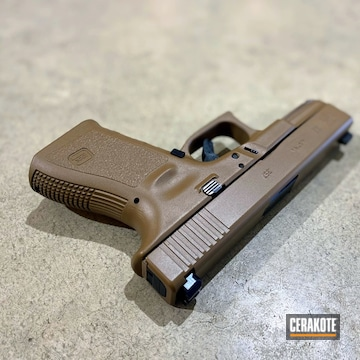Cerakoted Glock 32 In E-190