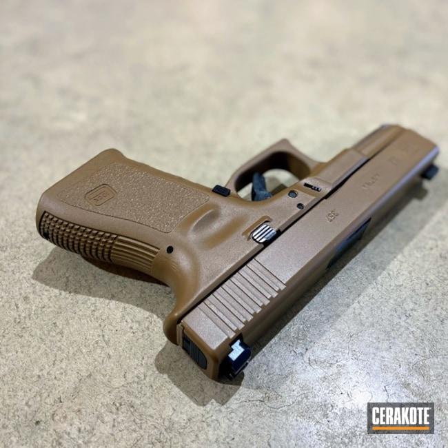 Cerakoted Glock 32 In E-190