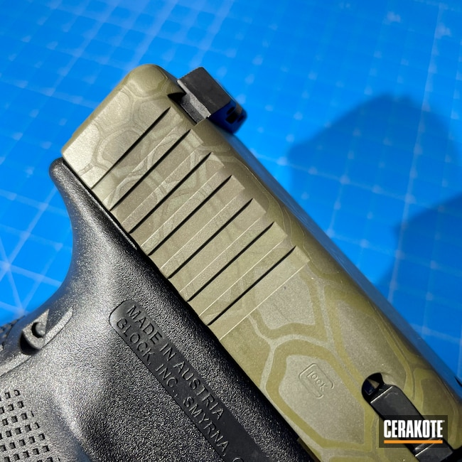 Cerakoted: Glock 21,Kryptek,Sniper Green H-229,Patriot Brown H-226,Camo,BENELLI® SAND H-143,Pistol,Glock,Noveske Bazooka Green H-189